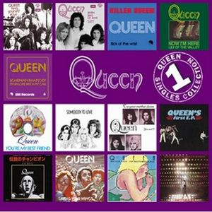 Queen The Singles Collection Volume 1 album cover