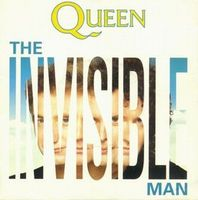 Queen The Invisible Man / Hijack My Heart album cover