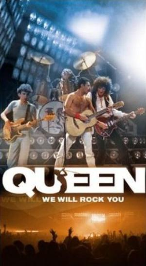 Queen - We Will Rock You CD (album) cover
