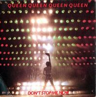 Queen Don't Stop Me Now / In Only Seven Days album cover