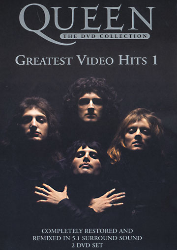 Queen - Greatest Video Hits 1 CD (album) cover