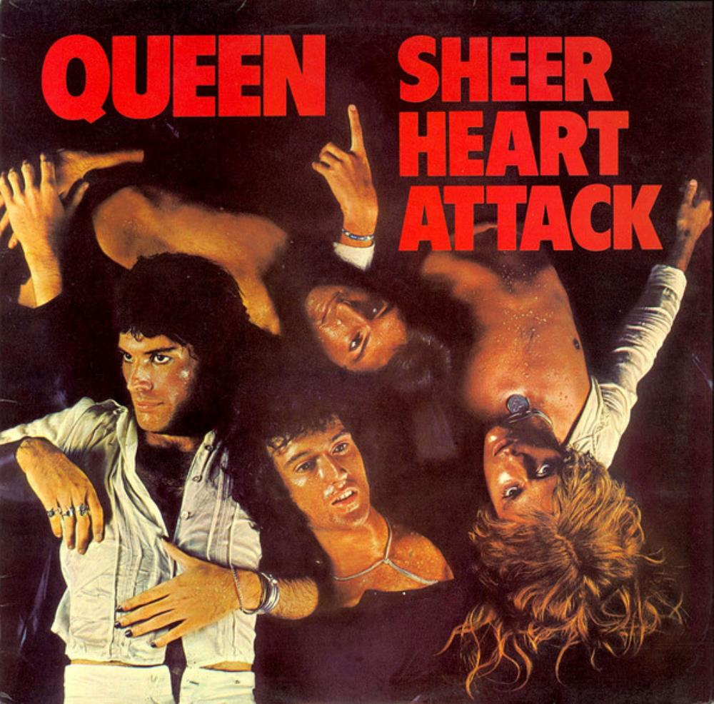 Sheer Heart Attack by QUEEN album cover