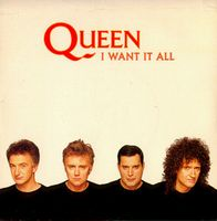 Queen I Want It All album cover