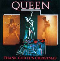 Queen Thank God It's Christmas album cover