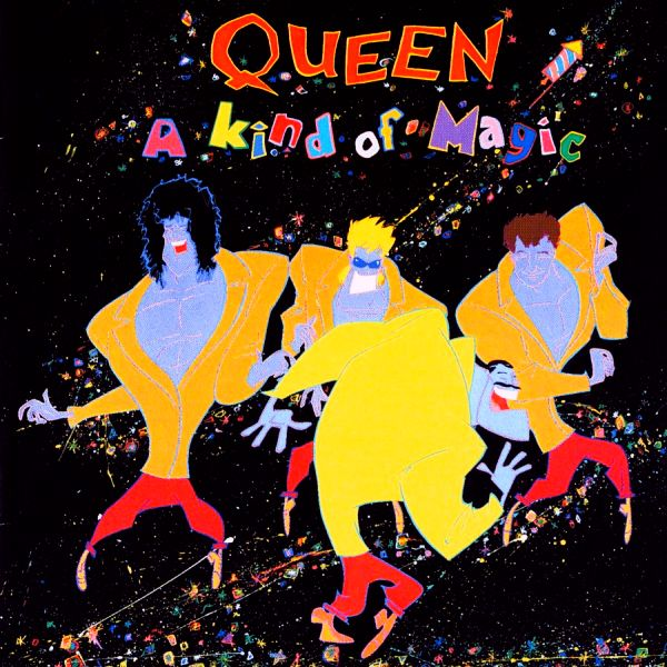 Queen - A Kind Of Magic CD (album) cover