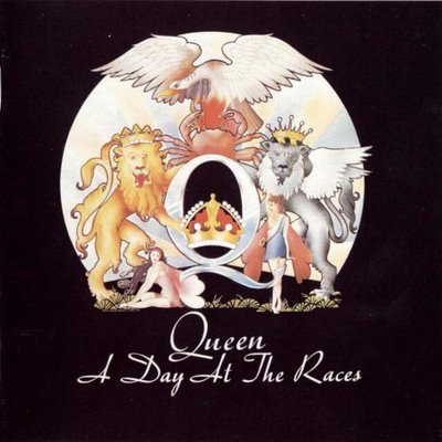 Queen - A Day At The Races CD (album) cover