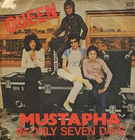 Queen Mustapha / In Only Seven Days album cover