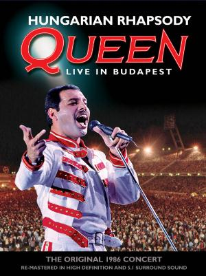 Queen - Queen - Hungarian Rhapsody: Live in Budapest (1986) CD (album) cover