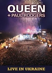 Queen - Queen + Paul Rodgers - Live in Ukraine CD (album) cover