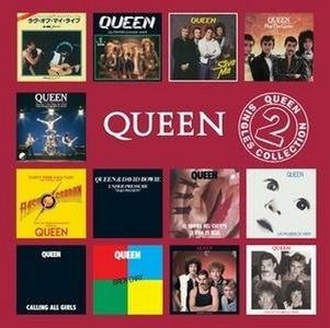 Queen - The Singles Collection Volume 2 CD (album) cover