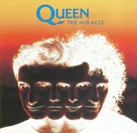 Queen - The Miracle / Stone Cold Crazy [Live] CD (album) cover