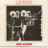 Queen - One Vision CD (album) cover