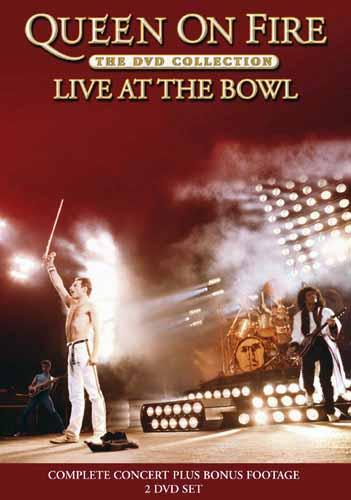 Queen Queen On Fire - Live At The Bowl album cover