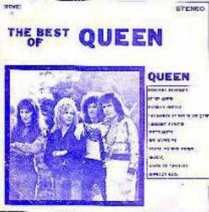 Queen The Best Of Queen album cover