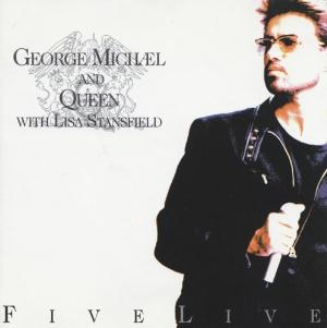 Queen - George Michael and Queen With Lisa Stansfield: Five Live CD (album) cover