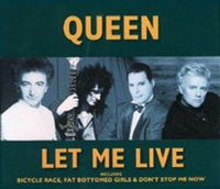 Queen Let Me Live album cover