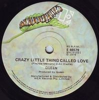 Queen Crazy Little Thing Called Love / Spread Your Wings album cover
