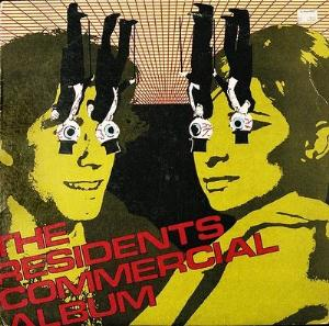 The Residents Commercial Album album cover