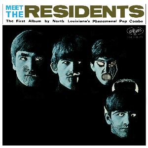 Meet The Residents by RESIDENTS, THE album cover