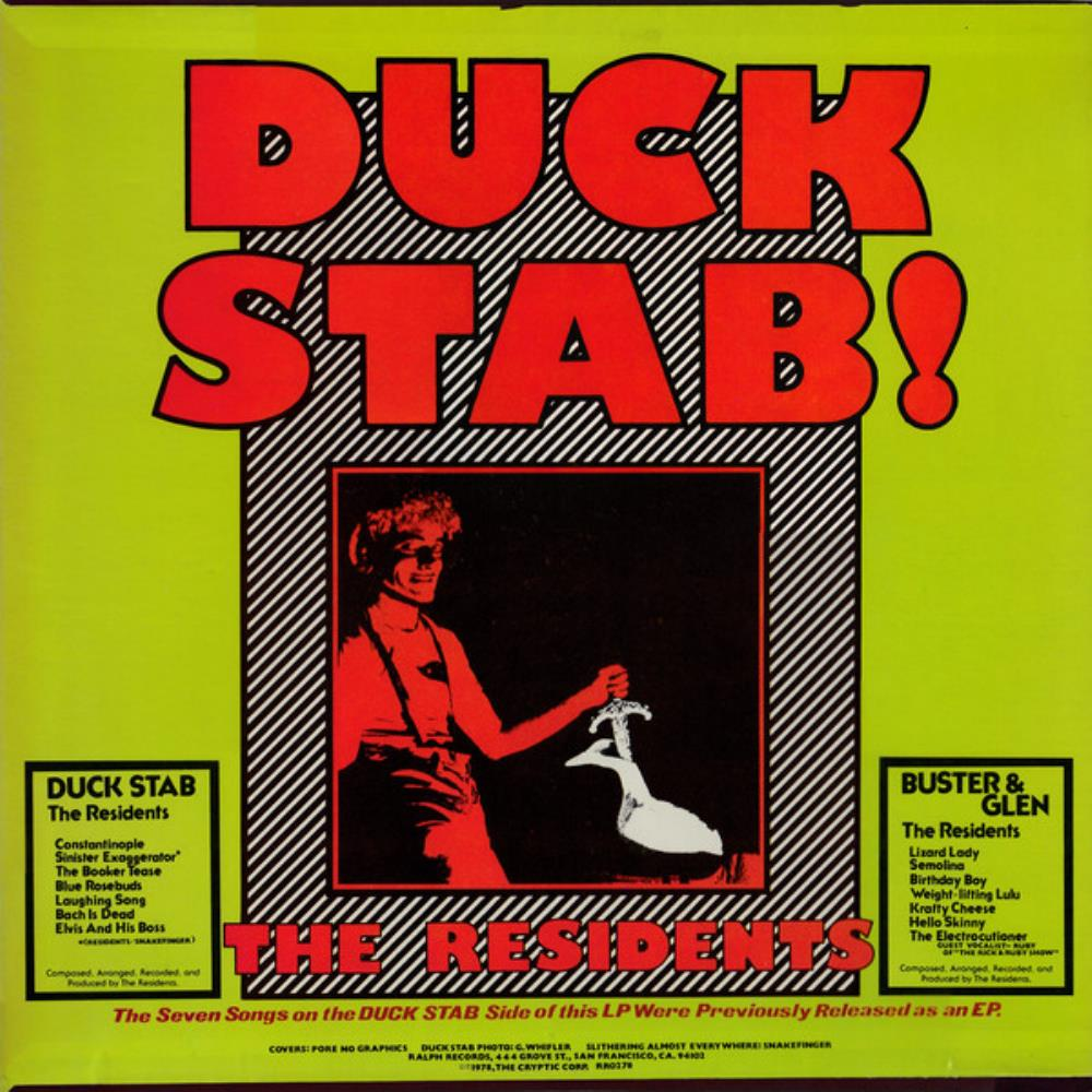 The Residents Duck Stab / Buster & Glen album cover