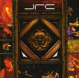 Jaime Rosas - Viajero Astral - Live in Brazil   CD (album) cover