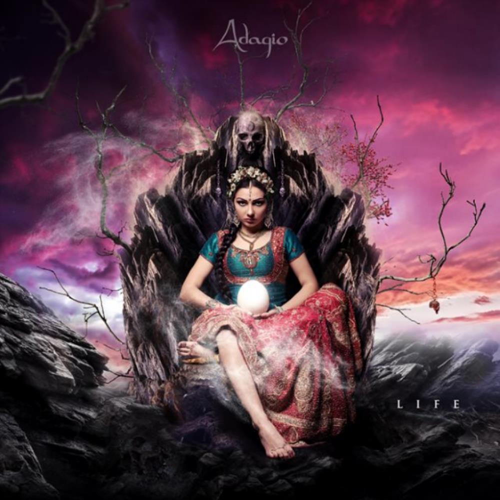Life by Adagio album rcover