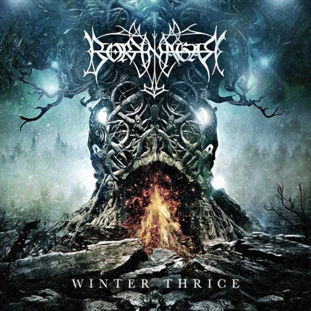 Borknagar Winter Thrice album cover