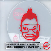 Super Furry Animals - Ice Hockey Hair CD (album) cover