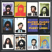Super Furry Animals - Fuzzy Logic CD (album) cover