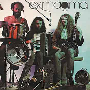 Exmagma - Exmagma CD (album) cover