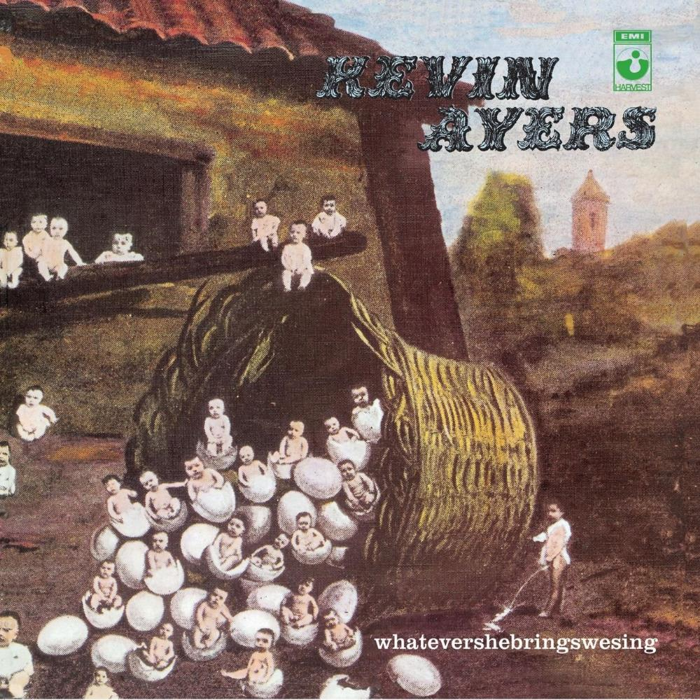 Kevin Ayers - Whatevershebringswesing CD (album) cover