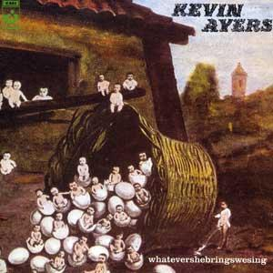 Kevin Ayers Whatevershebringswesing album cover