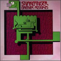 Greener Postures by SNAKEFINGER album cover