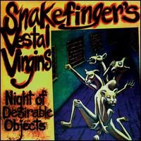 Night of Desirable Objects by SNAKEFINGER album cover
