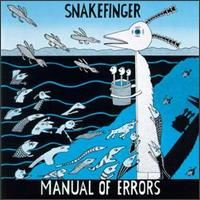 Manual of Errors by SNAKEFINGER album cover
