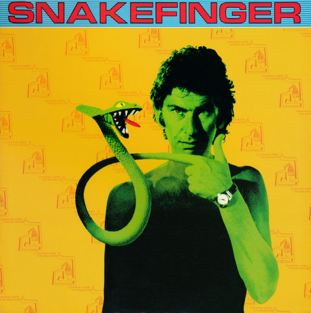 Chewing Hides the Sound by SNAKEFINGER album cover
