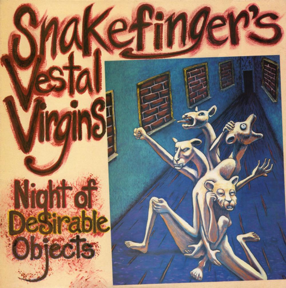 Snakefinger's Vestal Virgins: Night Of Desirable Objects by SNAKEFINGER album cover