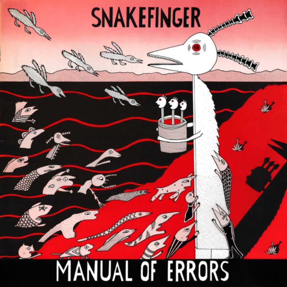 Manual Of Errors by SNAKEFINGER album cover