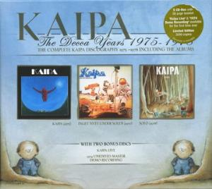 Kaipa The Decca Years 1975-1978 album cover