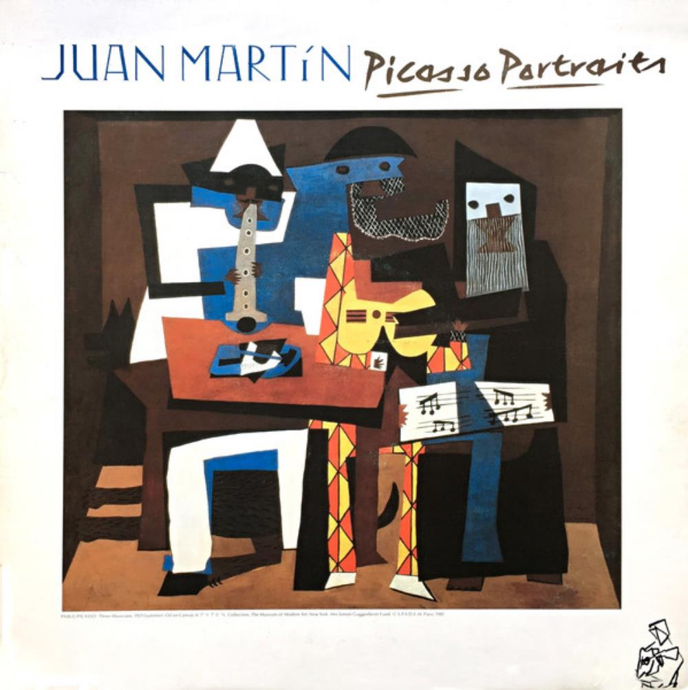 Juan Martín - Picasso Portraits CD (album) cover