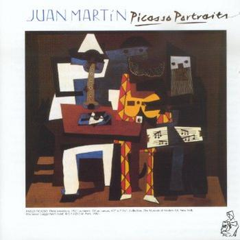 Picasso Portraits by MARTIN, JUAN album cover