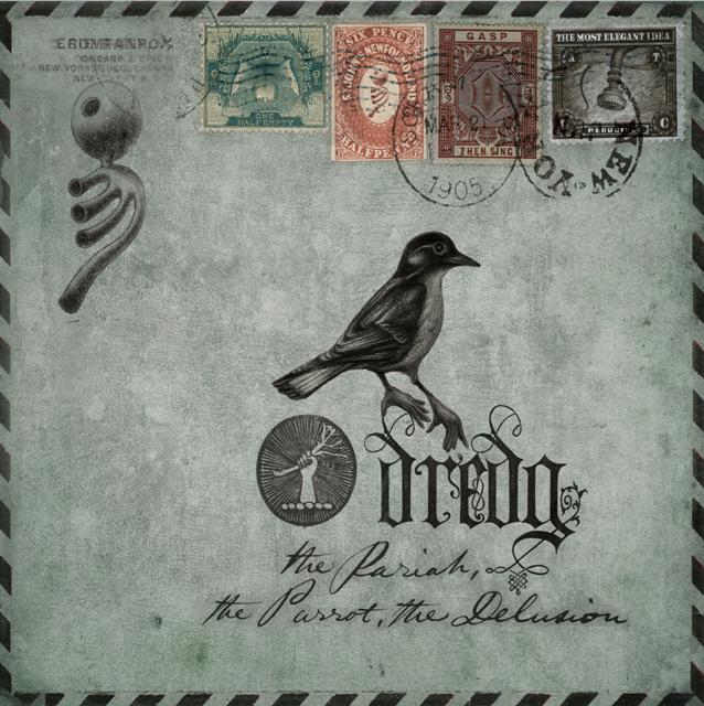 Dredg - The Pariah, The Parrot, The Delusion CD (album) cover