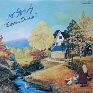 Mr. Sirius - Barren Dream CD (album) cover