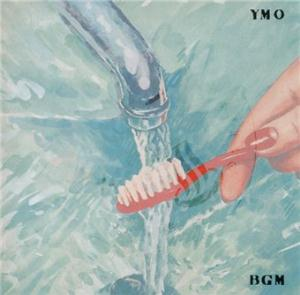 Yellow Magic Orchestra BGM album cover
