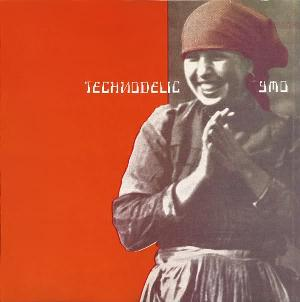 Yellow Magic Orchestra Technodelic album cover