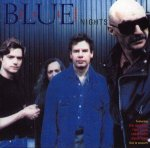Bruford Levin Upper Extremities - Blue Nights CD (album) cover