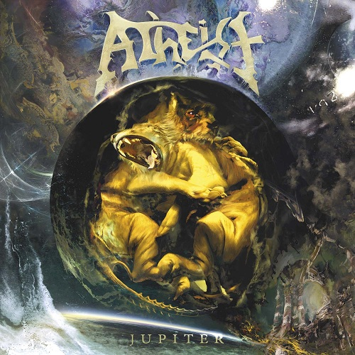Atheist - Jupiter CD (album) cover