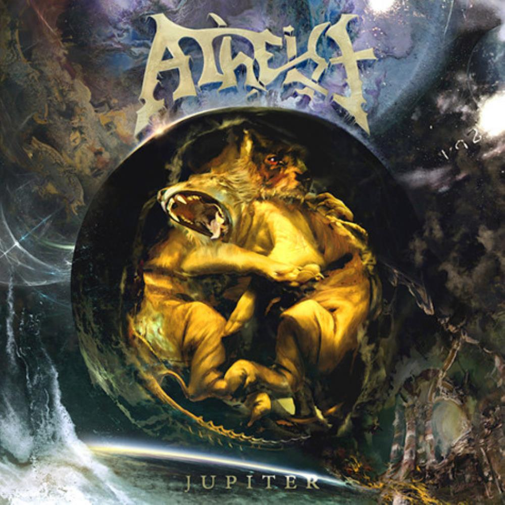 Jupiter by ATHEIST album cover