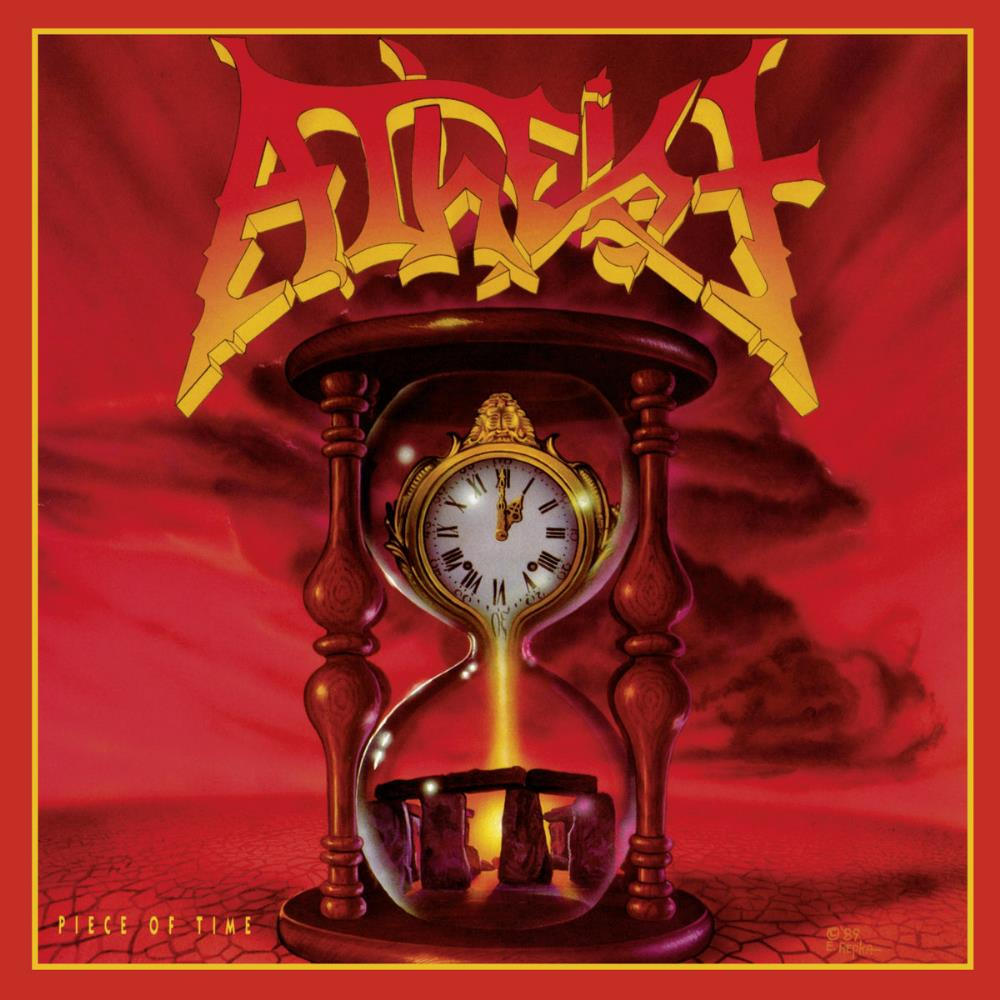 Atheist - Piece Of Time CD (album) cover