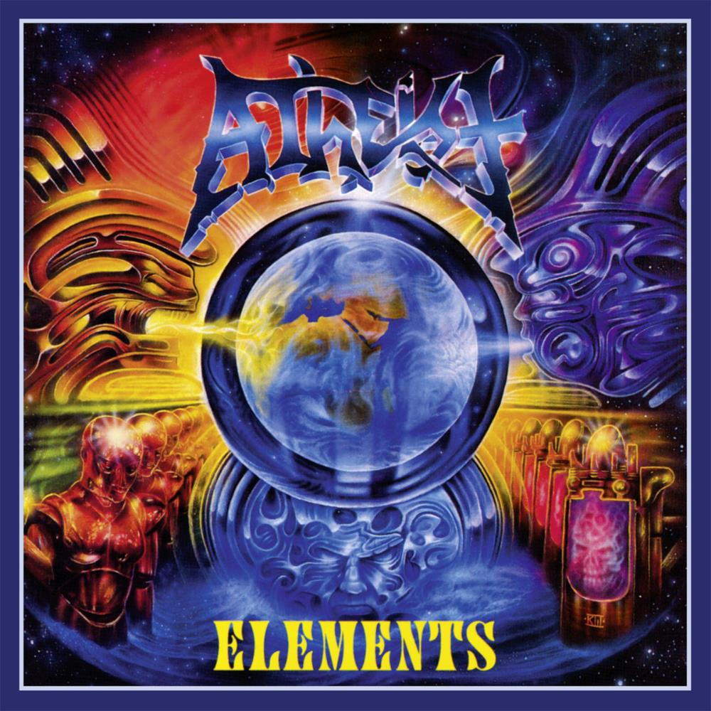 Elements by ATHEIST album cover